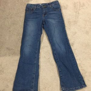 Girls size 8 bootcut jeans